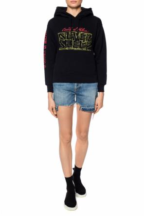 Sweatshirt with a print od Marcelo Burlon