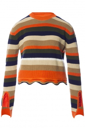 Striped sweater od Moncler
