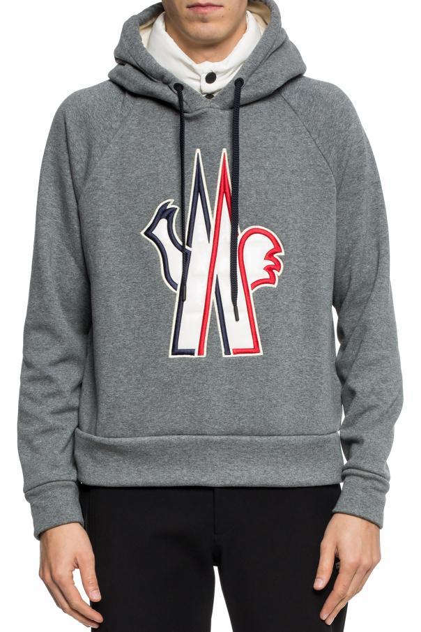 470a0d7d97ca Hooded sweatshirt with logo Moncler Grenoble - Vitkac shop online