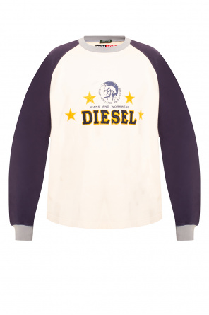 Sweatshirt with logo od Diesel