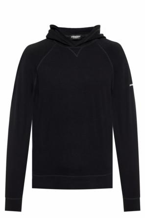 Long sleeve t-shirt with a hood od Dsquared2