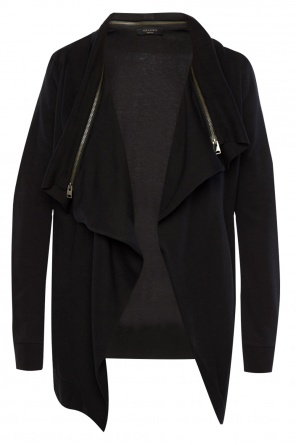 'dahlia' sweatshirt with removable collar od AllSaints