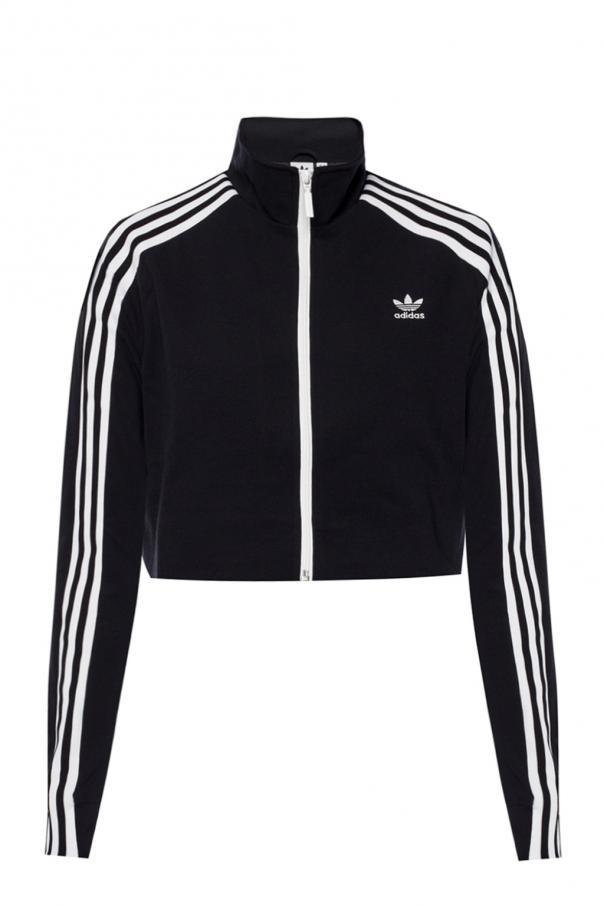 butik wyprzedażowy najniższa zniżka wysoka moda Short sweatshirt with a logo ADIDAS Originals - Vitkac shop ...