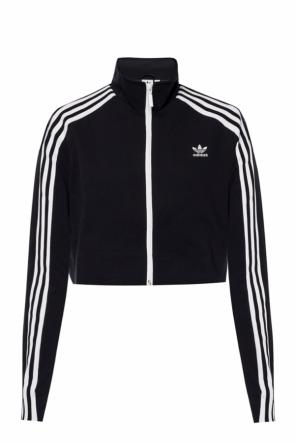 Short sweatshirt with a logo od ADIDAS Originals