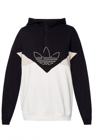 Sweatshirt with an embroidered logo od ADIDAS Originals