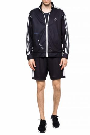 Funnel neck sweatshirt with logo od ADIDAS by Alexander Wang