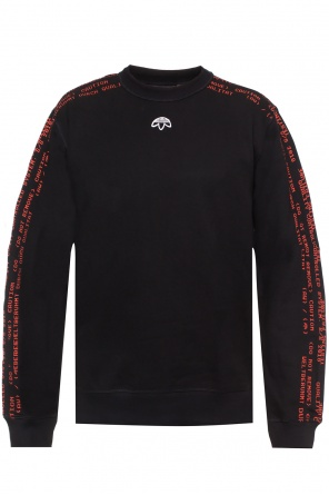 Embroidered lettering sweatshirt od ADIDAS by Alexander Wang
