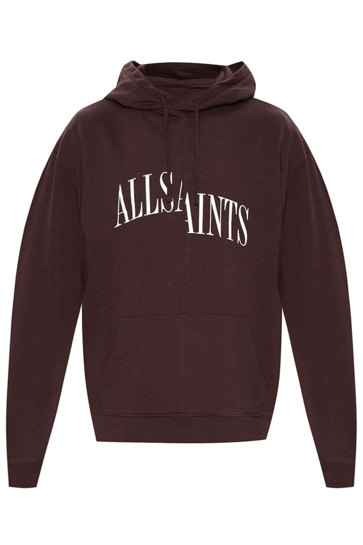 AllSaints 'Dropout' hoodie with logo