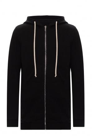 Cotton hoodie od Rick Owens DRKSHDW