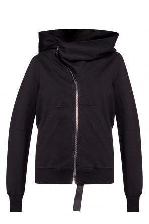 Logo-patched hoodie od Rick Owens DRKSHDW