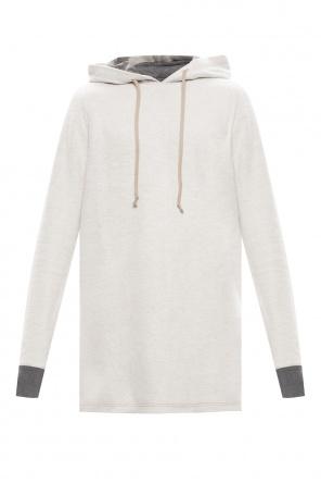 Jersey hoodie od Rick Owens DRKSHDW