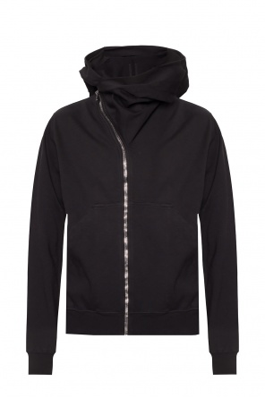 Sweatshirt with asymmetrical zip od Rick Owens DRKSHDW