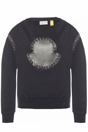 Sweatshirt with logo applique od Moncler Genius