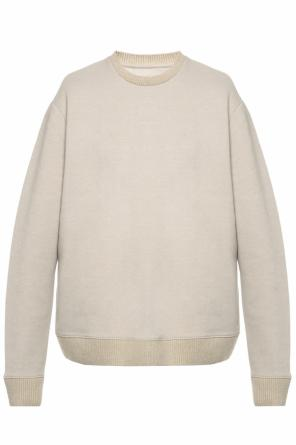 Sweatshirt with ribbed trims od Allsaints