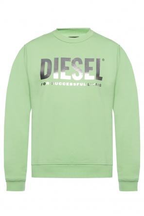 Sweatshirt with logo od Diesel