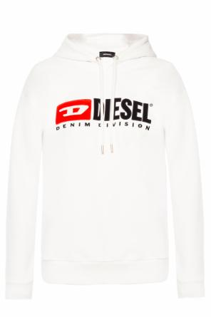 Logo-embroidered sweatshirt od Diesel