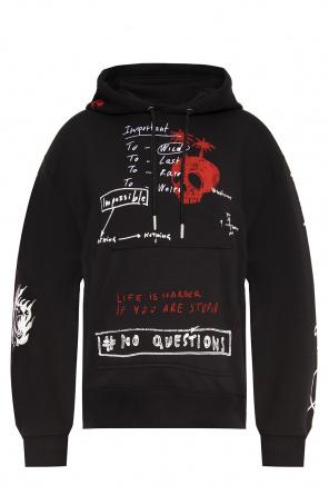 Printed hoodie od Diesel