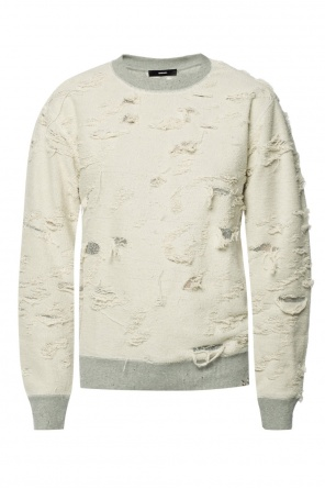 Distressed sweatshirt od Diesel