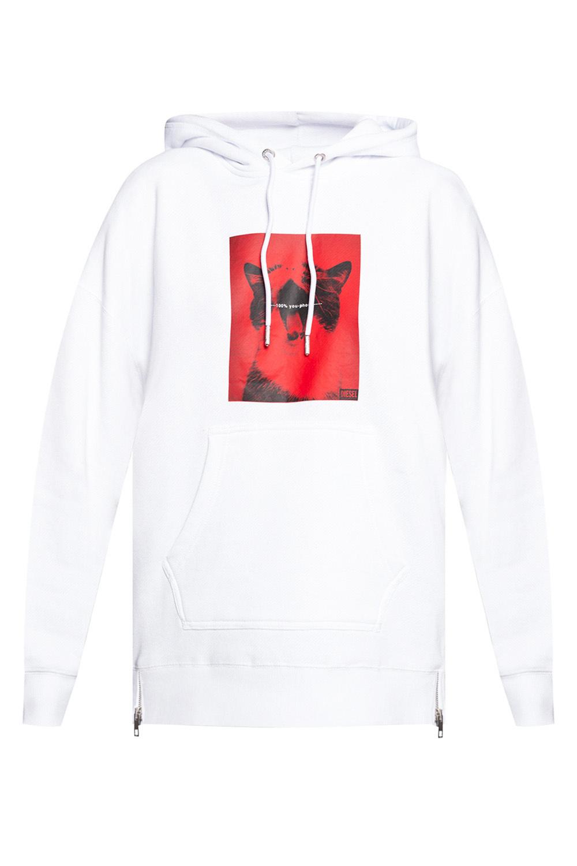 Diesel Printed hoodie