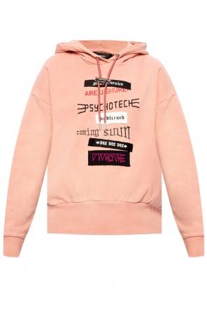 Patched hoodie od Diesel