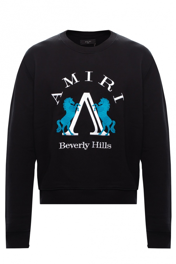 Amiri Logo-embroidered sweatshirt