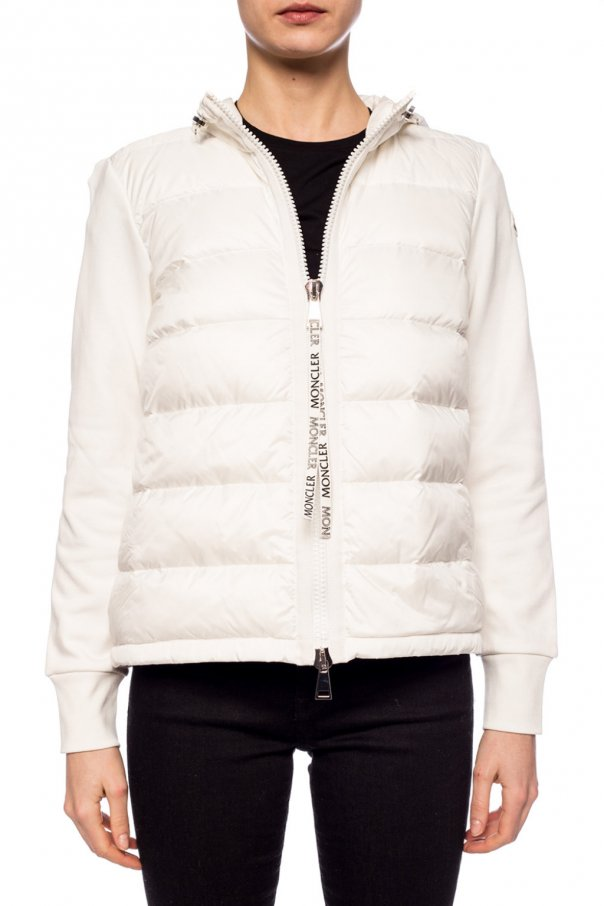 Sweatshirt with quilted pockets od Moncler