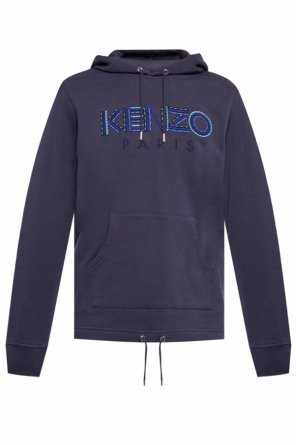 Logo-embroidered hoodie od Kenzo