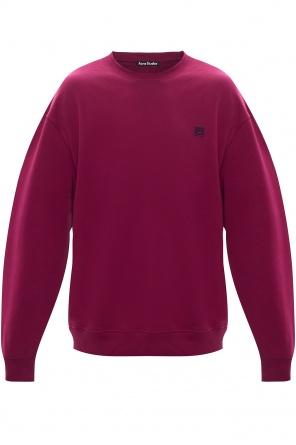 Sweatshirt with logo od Acne