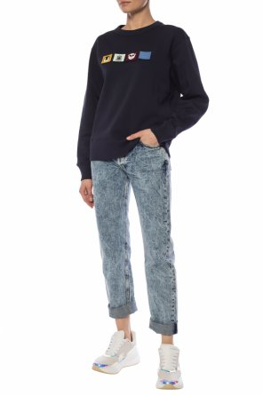 Appliqued sweatshirt od Acne