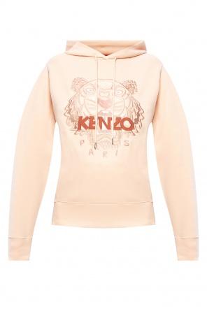 Tiger head hoodie od Kenzo