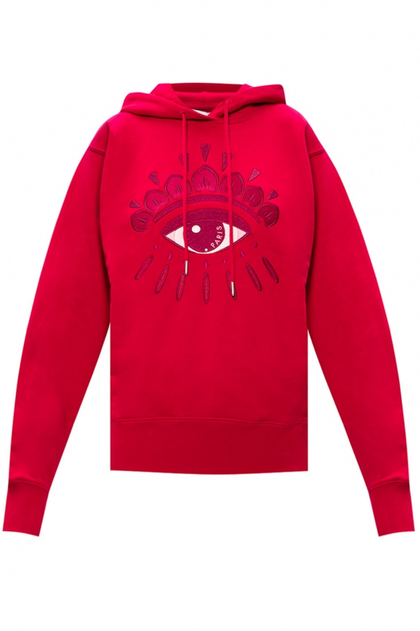 Kenzo Logo-patched hoodie