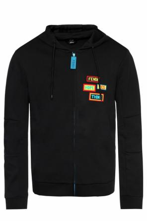 Sweatshirt with inscriptions od Fendi
