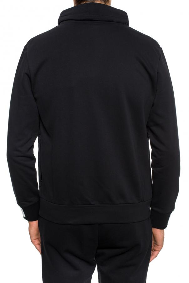 Hidden hood sweatshirt od Fendi