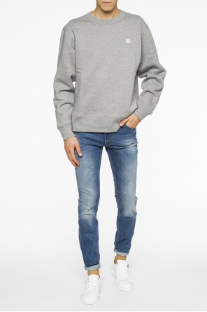 Patched sweatshirt od Acne
