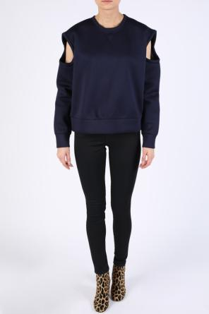 Oversize sweatshirt with openings od Diesel Black Gold