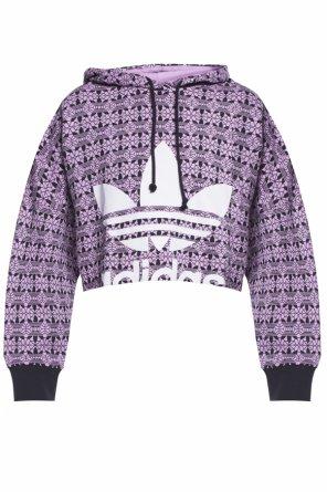 Cropped oversize sweatshirt od ADIDAS Originals