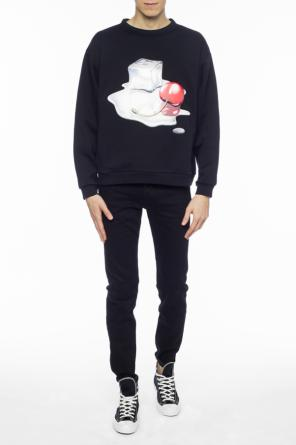Patched oversize sweatshirt od Acne