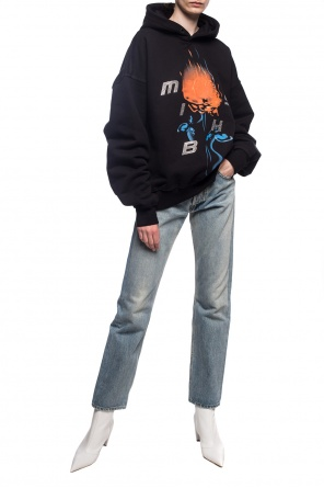 Hooded sweatshirt with logo od MISBHV