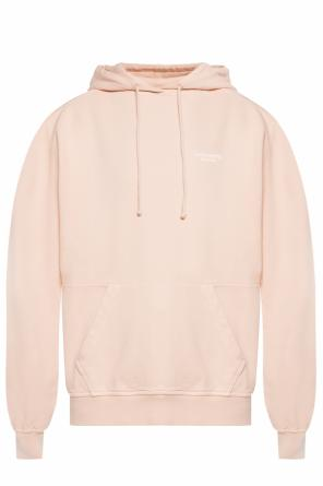 Logo-embroidered hoodie od Acne