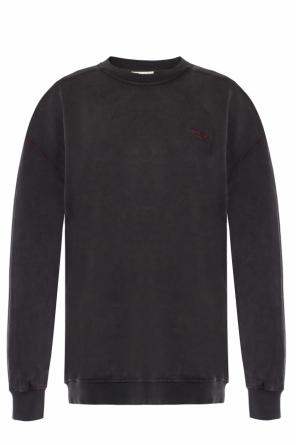 Logo-embroidered sweatshirt od Acne