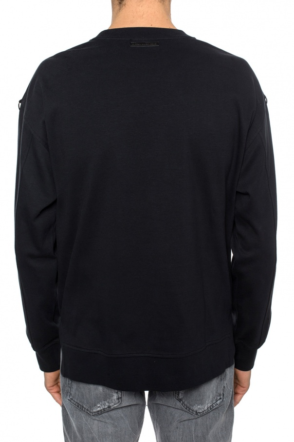 Round neck sweatshirt od Diesel Black Gold