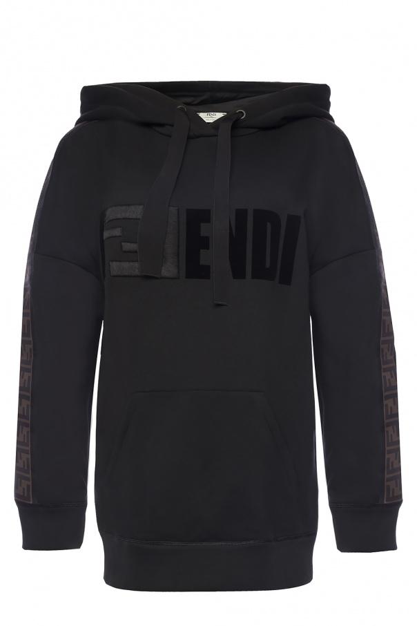 f45482d7fa26 Logo-embroidered sweatshirt Fendi - Vitkac shop online
