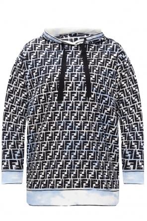 Patterned hoodie od Fendi