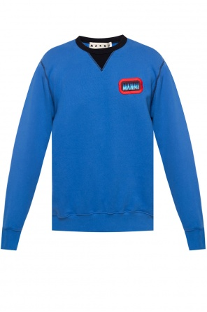 Logo-patched sweatshirt od Marni