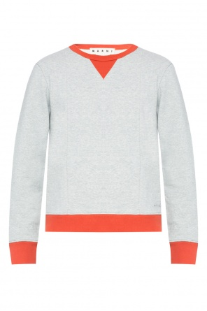 Logo-embroidered sweatshirt od Marni