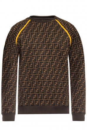 Patterned sweatshirt od Fendi