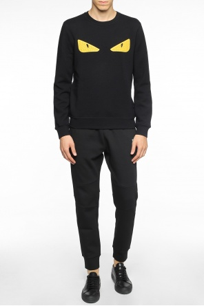 Eye motif sweatshirt od Fendi