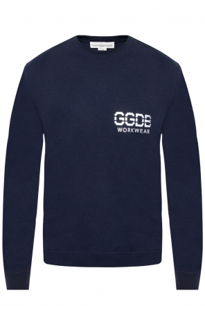 Sweatshirt with a printed logo od Golden Goose