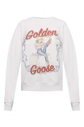 Printed sweatshirt od Golden Goose