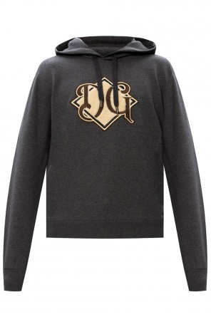 Patched hoodie od Dolce & Gabbana